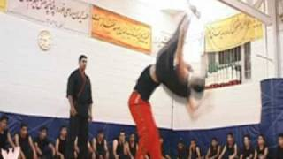 Iran Wrestling Entertainment  (IWE) VS AARON TEAM   [ Iranian WWE ]