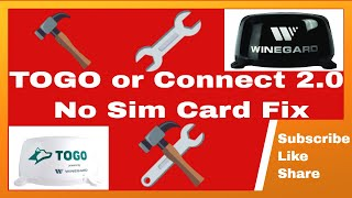 TOGO or Winguard Connect 2.0 No Sim Card Fix