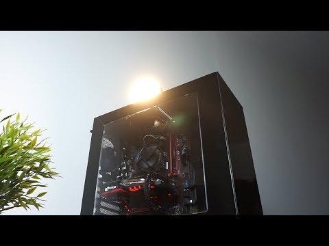 تجميعة كمبيوتر PC للالعاب رخيصة الجيل الثامن i3 قابلة للتطوير 2800 ريال 680$ PC Build Guide 2018