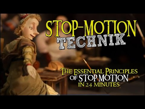 The Essential Principles  of STOP MOTION  in 24 minutes