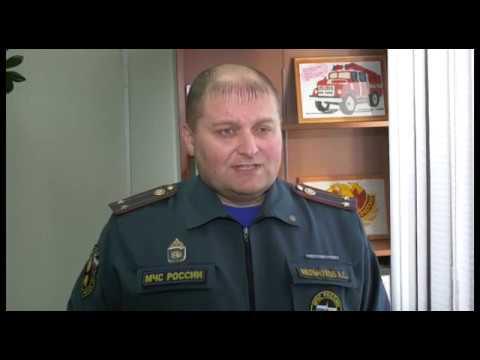 Алексей Мельчуков - нач. отдела надзорной деятельности и профилактицеской работы по городу Мегиону