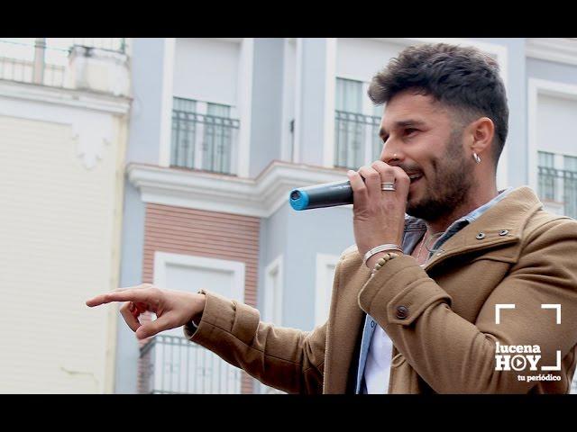 Vídeo: Actuación de Molina en la Plaza Nueva de Lucena, con motivo del Día de Andalucía