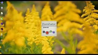 Программирование контроллера Dominator DMX
