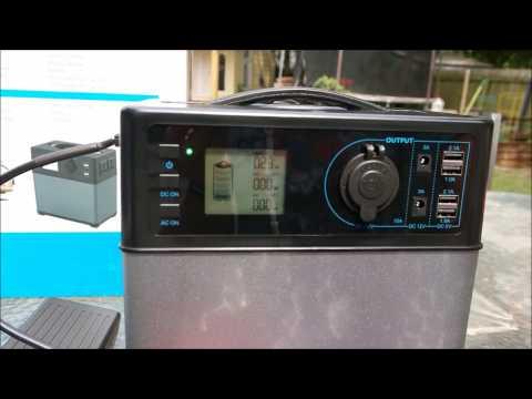 POWEROAK Powerhouse PS5B Compact 400Wh Solar Generator Review
