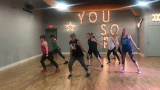 Pure Water @ Mustard & Migos Throw Down at Fly Dance Fitness