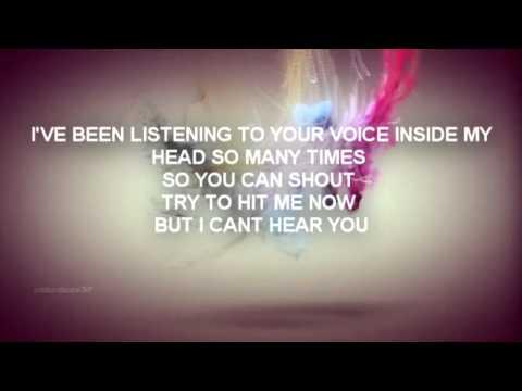 I Can't Hear You Lyrics
