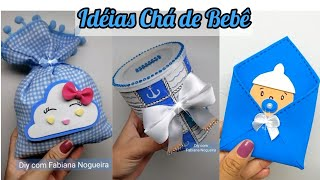 3 Ideias Para Lembrancinhas de Chá de Bebe