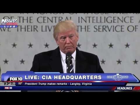 Trump compares CIA to Nazi Germany