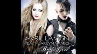Repeat youtube video Avril Lavigne - Bad Girl ft. (Marilyn Manson)