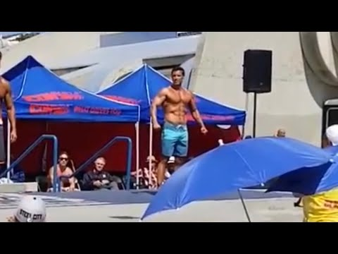 Kevin Caliber Mr Muscle Beach 2018 Competition