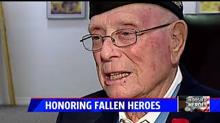 WWII Marine with Congressional Medal of Honor knows the cost of freedom