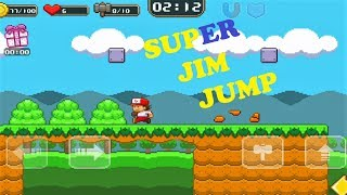 Super Jim Jump World 01 Level 7-9 Android Game