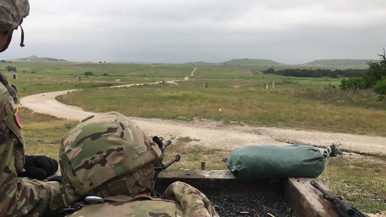 M249 SAW Light Machine Gun range 1 - YouTube