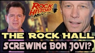 Jon Bon Jovi Says He May Never Get Into The Rock and Roll Hall Of Fame Because of Two People