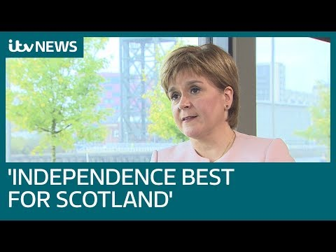 In full: Nicola Sturgeon demands second referendum on Scottish independence | ITV News