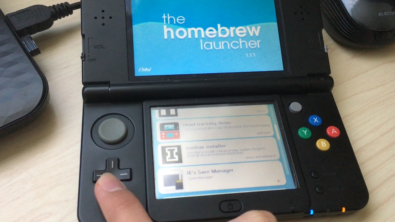 Homebrew 3DS改造(簡単!) - Y...