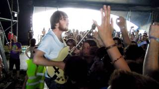 Pulled Apart By Horses - High Five, Swan Dive, Nose Dive live @ Bažant Pohoda 2011