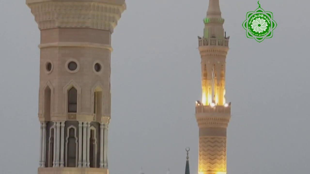 تكبيرات عيد الأضحى المبارك بإطلالة مباشرة على الحرم النبوي للمؤذن محمد ماجد حكيم 10-12-1441هـ -2-.