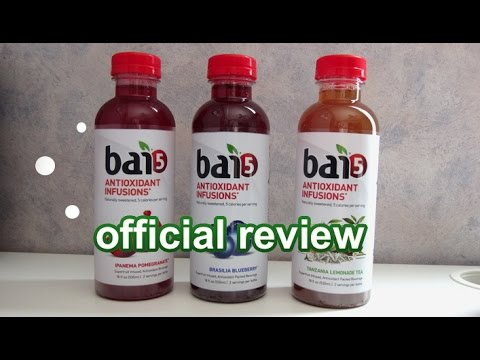 Bai5 Natural Antioxidant Infused Drink Review