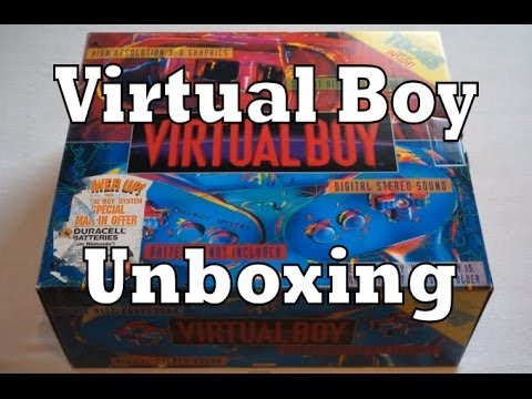 Nintendo Virtual Boy Unboxing & Review (VB)