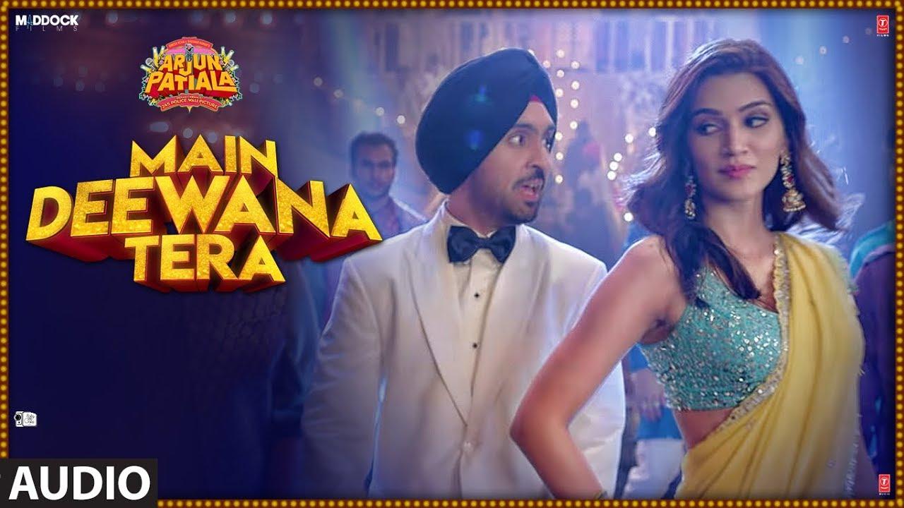 Main Deewana Tera Audio | Arjun Patiala |Guru Randhawa,Nikhita G | Diljit D, Kriti S|Sachin -Jigar Watch Online & Download Free