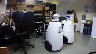 Робот-официант и робот бармен от R.Bot и NanoJam.ru