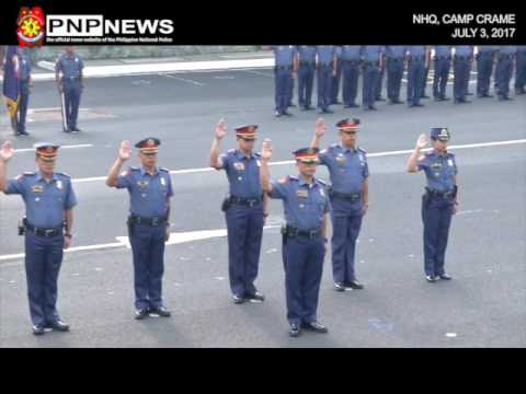 PNP FLAG RAISING & KICK OFF CEREMONY OF THE 22ND PCR MONTH (JULY 3, 2017)