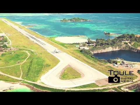 Seychelles International Airport Footage