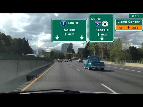 Portland Freeway Road Trip