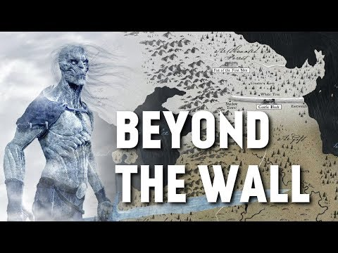 Beyond the Wall - Map Detailed (Game of Thrones)