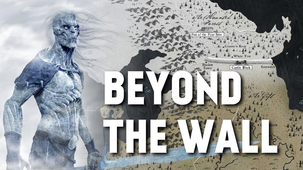 Westeros Karte Interaktiv.Beyond The Wall Map Detailed Game Of Thrones