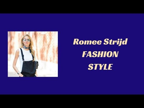 Romee Strijd Fashion Style