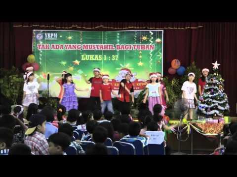 Selamat Hari Natal in Mandarin Natal 2015 SD Masehi KUDUS