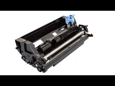 How to clean Kyocera Toner Unit – Developer unit FS-1135MFP DV-1140E
