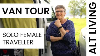 Van Tour - Creative Solo Female Traveller and her Cat - VAN LIFE