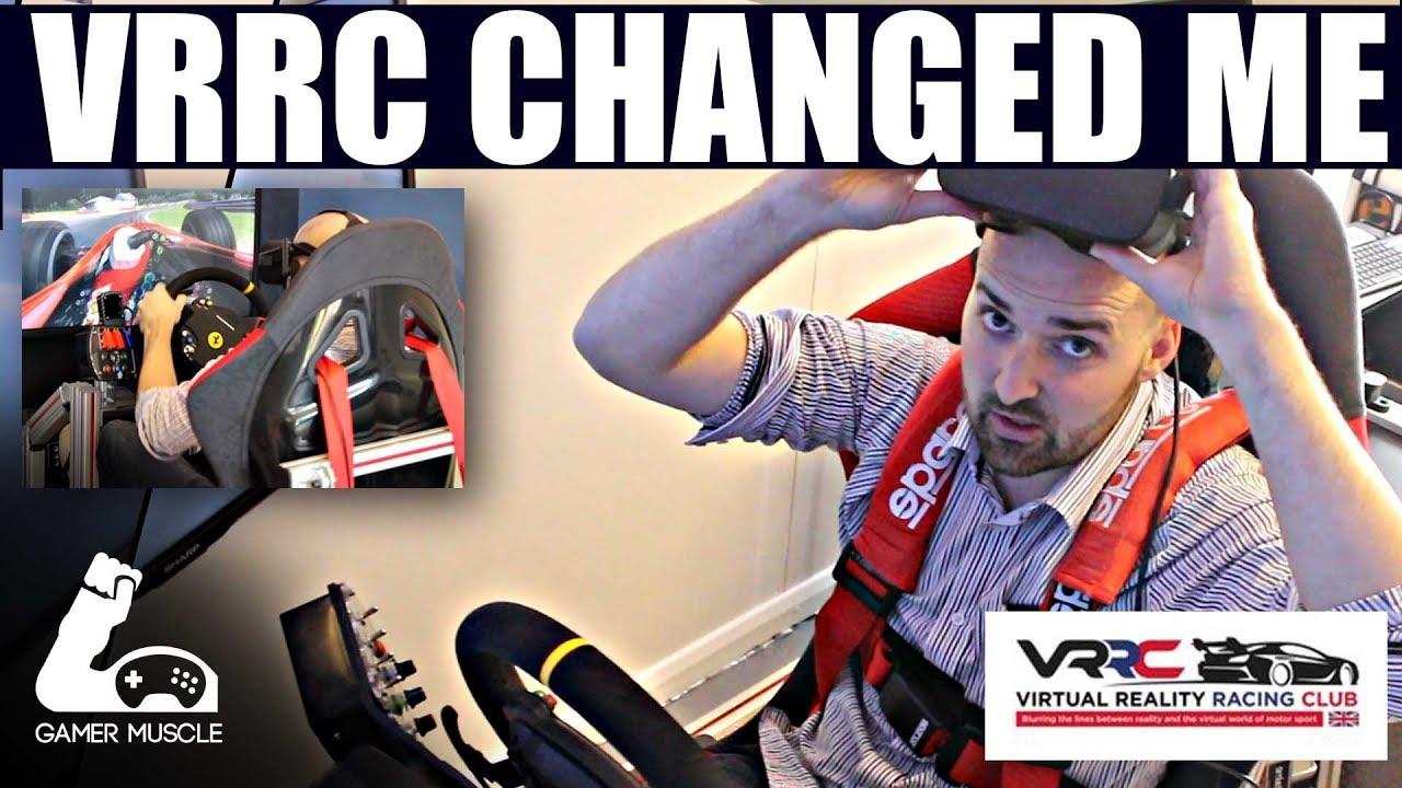 Gamer Muscle Visits Virtual Reality Racing Club Youtube