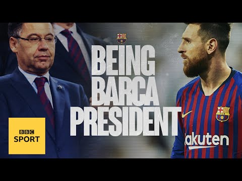 Life after Messi, delivering De Jong & leaving a legacy - being Barcelona president - BBC Sport