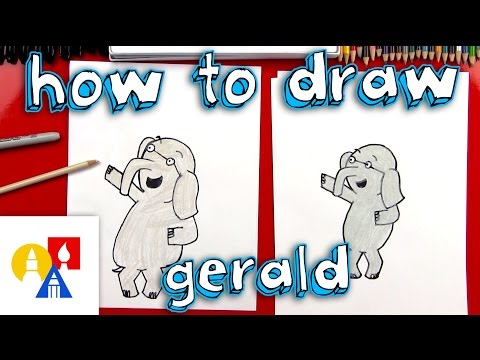 How To Draw Gerald