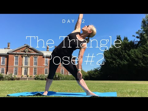 day 2 version 2 of our 7 day yoga pose challenge  yoga