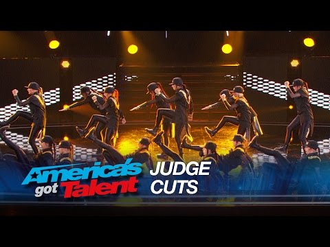 DM Nation: 14-Member Female Dance Group Bring Power and Precision - America's Got Talent 2015