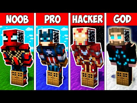 minecraft-noob-vs-pro-vs-hacker-vs-god-:-super-block-base-inside-heroes-in-minecraft