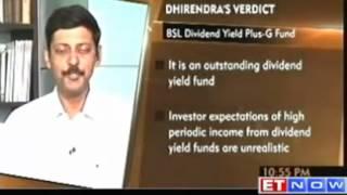 Dhirendra Ar Speaks Birla Sun Life Mutual Funds