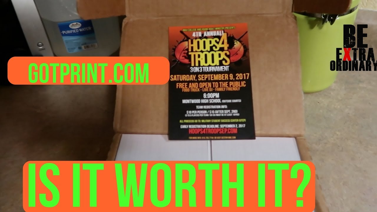 is gotprint com worth it unboxing and product review youtube