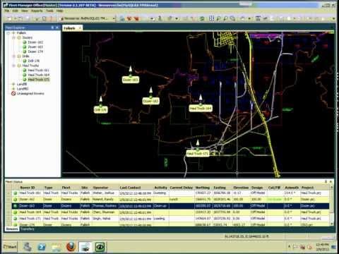 Fleet Manager Office - Main Screen Overview