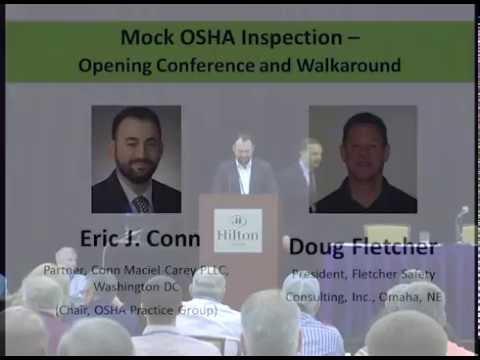 Mock OSHA Inspection - Eric Conn & Doug Fletcher