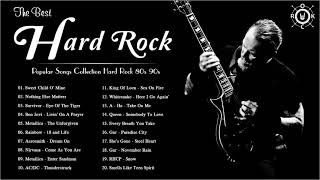 Classic Hard Rock 80s and 90s 💤 The Best Hard Rock Songs Of All Time