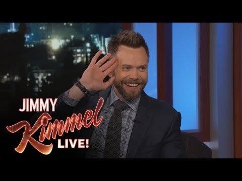 Joel McHale on Hosting the People's Choice Awards