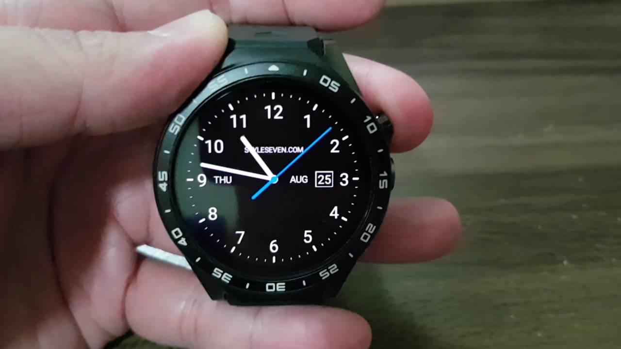 Kingwear KW88 Alternative Watch Faces / Clock Faces - YouTube