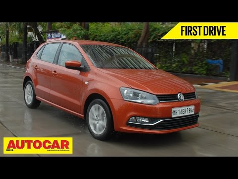 2014 Volkswagen Polo Facelift 1.5 TDI Diesel | First Drive Video Review | Autocar India