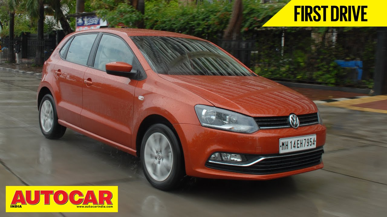 Vw Of Orange >> 2014 Volkswagen Polo Facelift 1.5 TDI Diesel | First Drive Video Review | Autocar India - YouTube